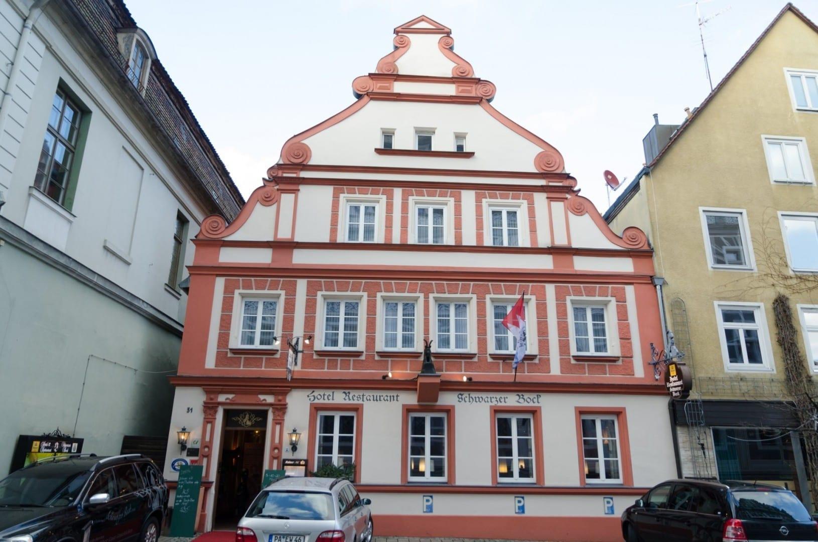Hotel y restaurante Schwarzer Bock Ansbach Alemania