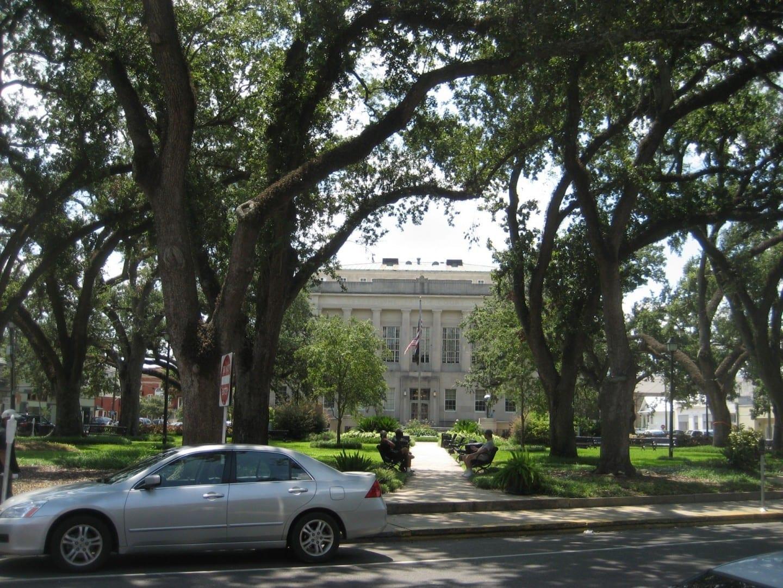 Houma: Tribunal de la parroquia de Terrebonne, calle principal Houma LA Estados Unidos