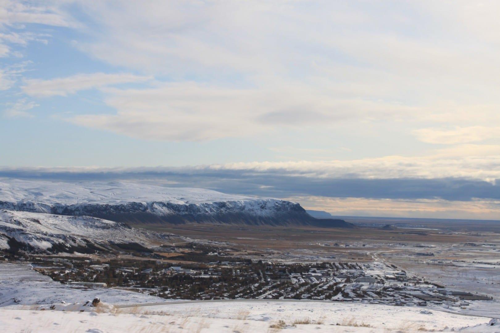 Hveragerði a distancia Hveragerði Islandia