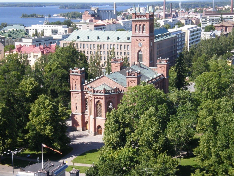 Iglesia de la Trinidad Vaasa Finlandia