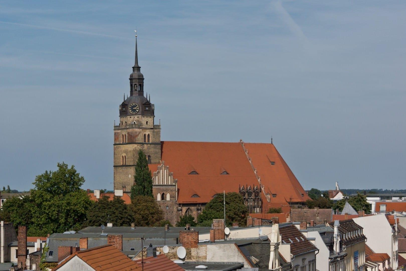 Iglesia de Santa Catalina Brandenburg Ciudad Alemania