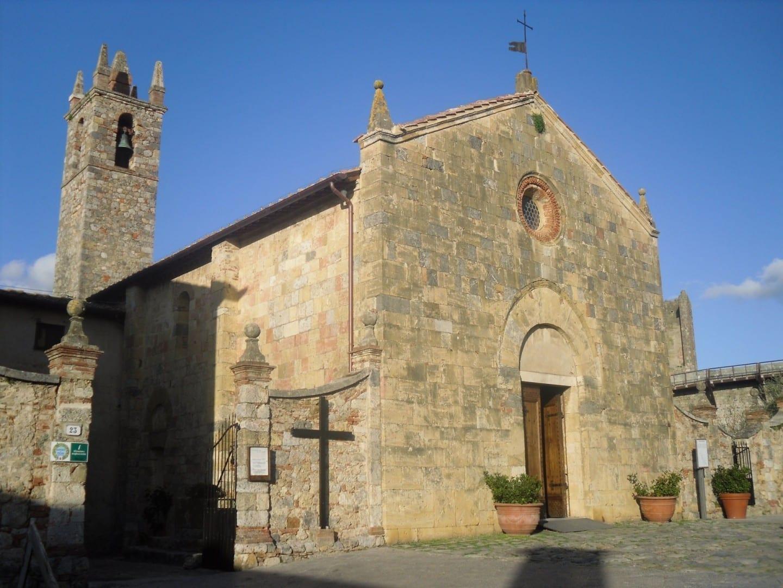 Iglesia de Santa María Monteriggioni Italia