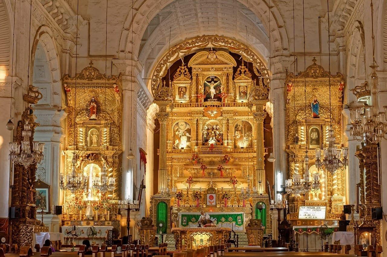 Iglesia Goa Religión India