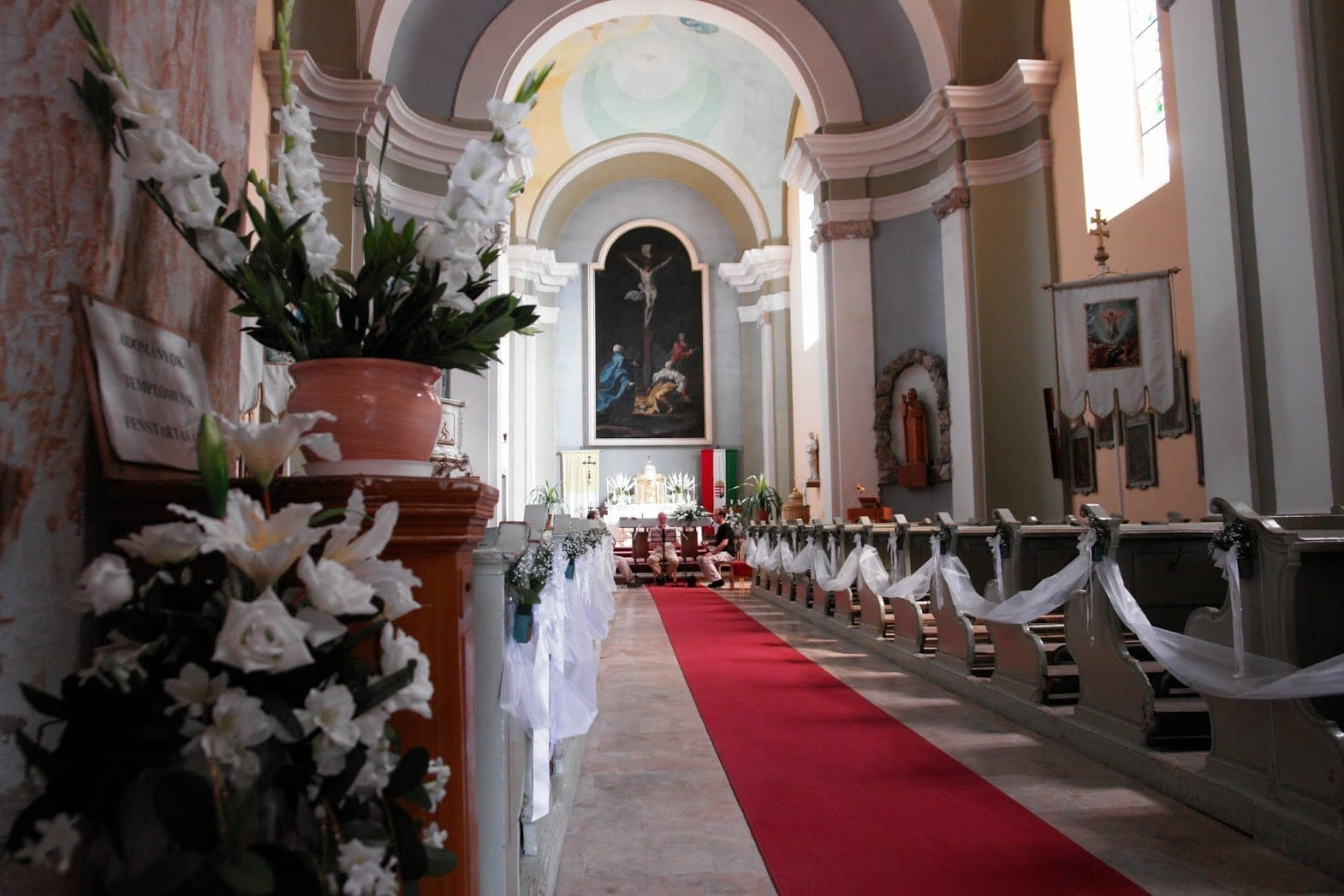Iglesia parroquial de San Juan Bautista Visegrado Hungría