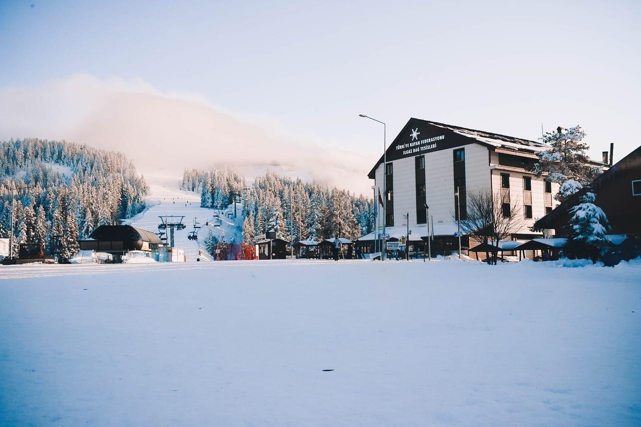 Ilgaz Kastamonu Invierno Turquía