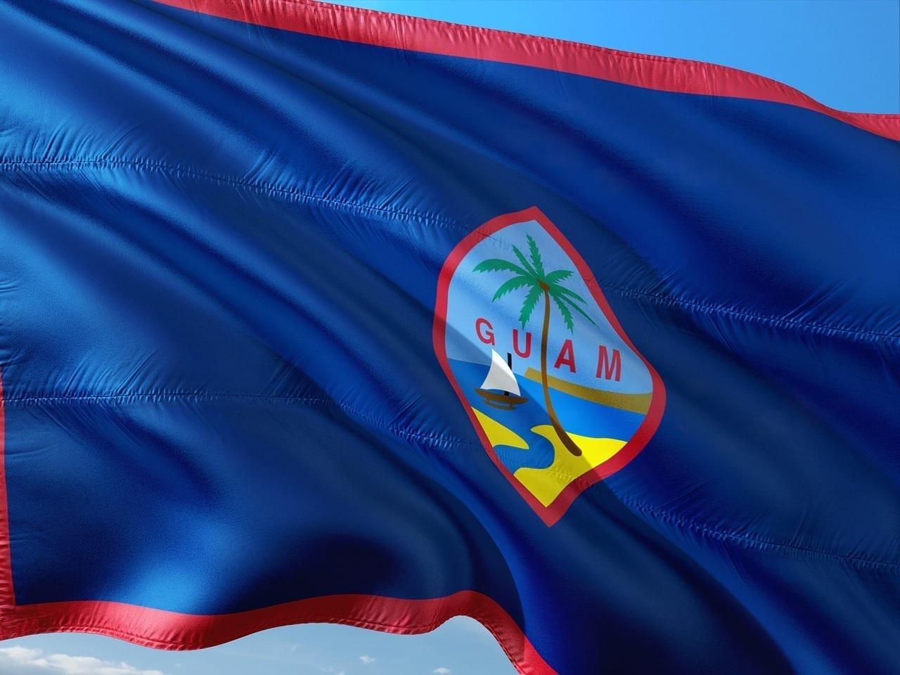 Internacional Bandera Guam Guam