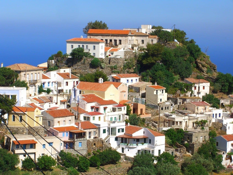 Ioulis es la capital de la isla. Kea Grecia
