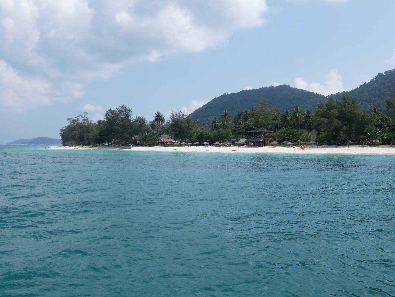 Isla de Besar Mersing Malasia