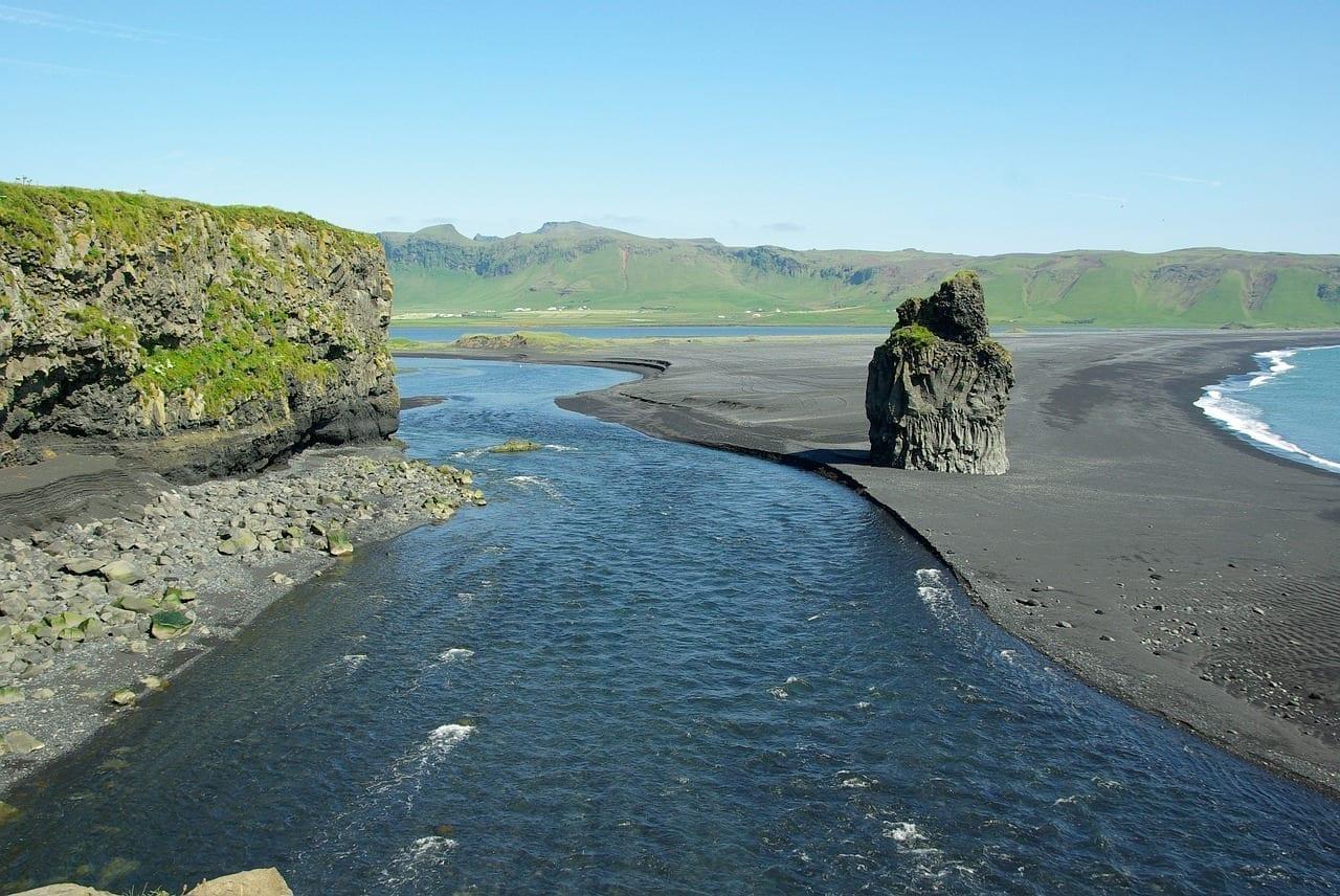 Islandia Playa Vik Islandia