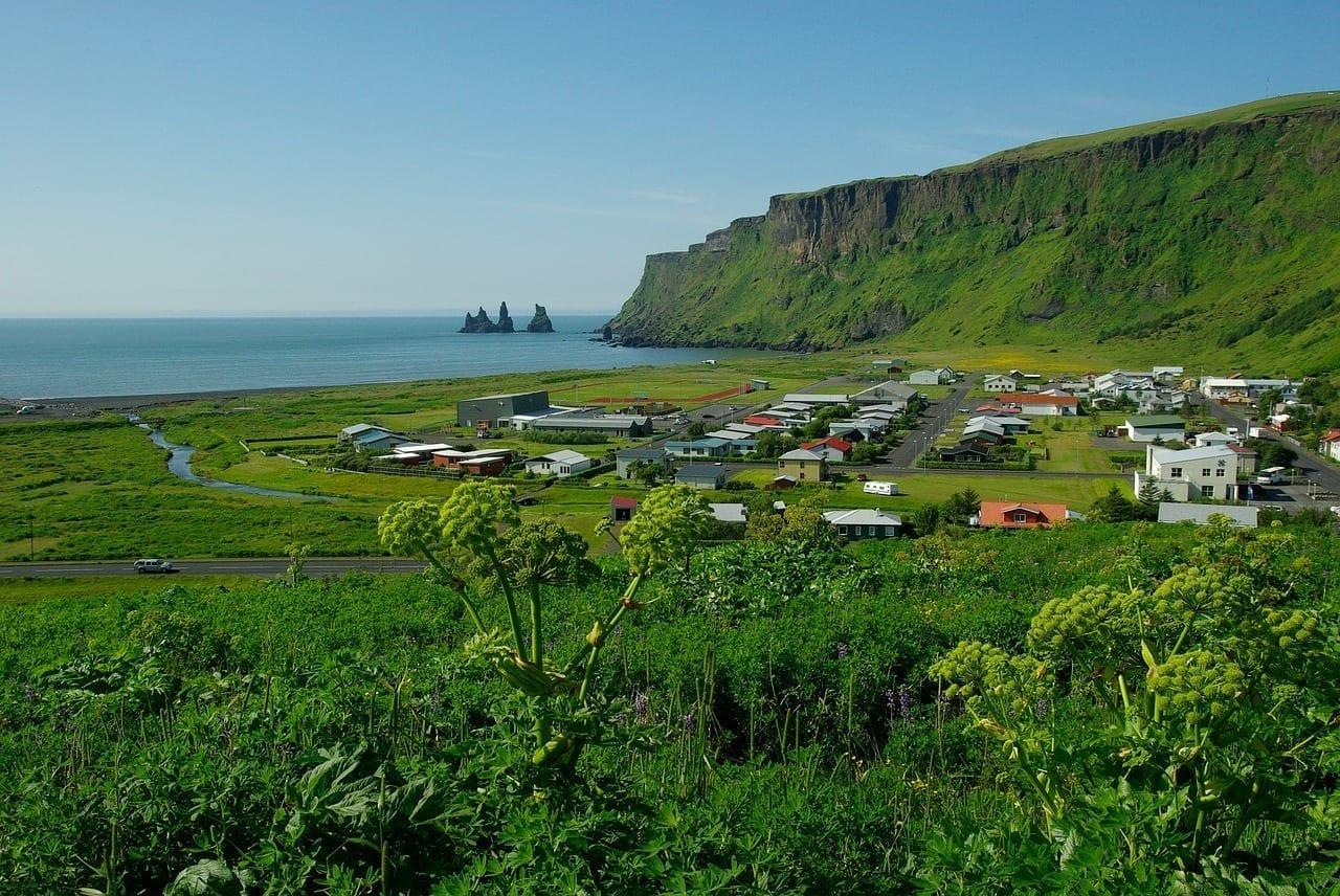 Islandia Vik Acantilado Islandia