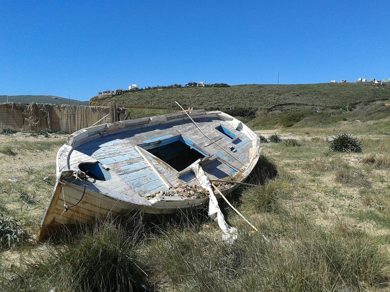 Islas Griegas Andros Barco De Pesca Grecia