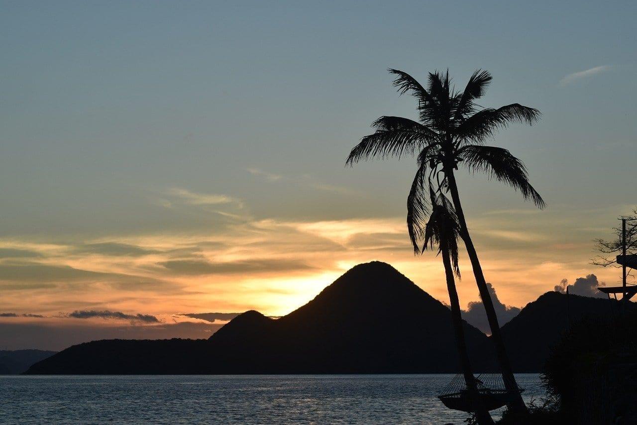 Islas Vírgenes Británicas Tortola Puesta De Sol Islas Vírgenes del Reino Unido