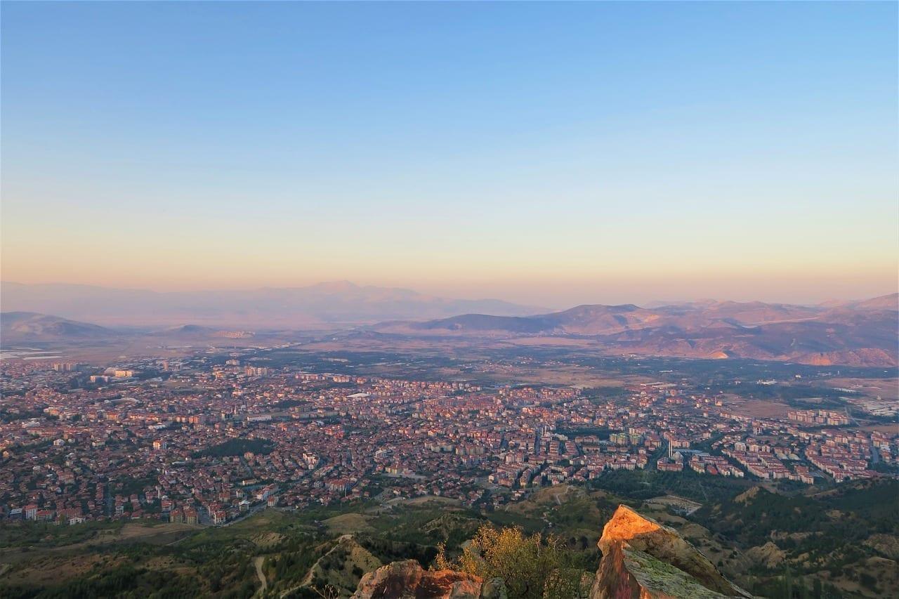 Isparta Ciudad Turquía Turquía