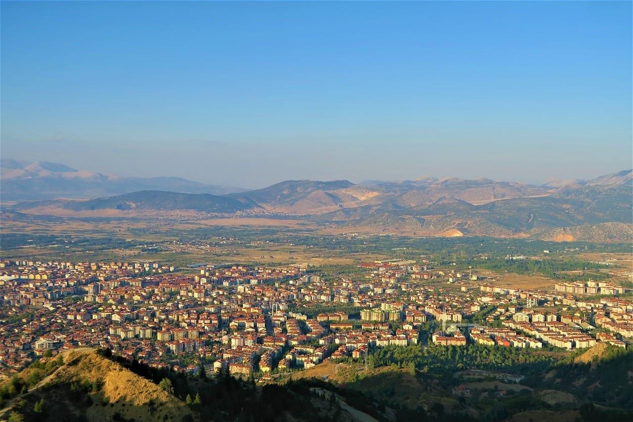 Isparta Turquía Ciudad Turquía
