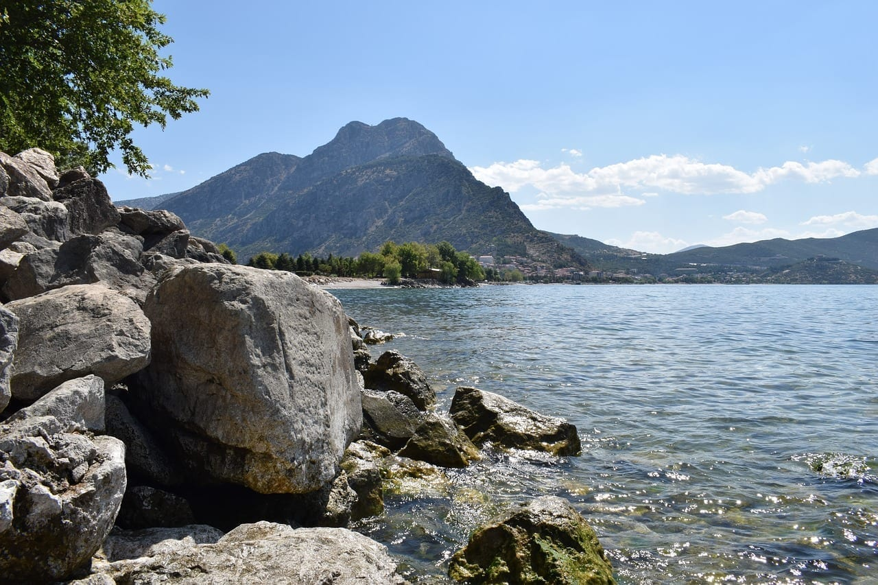 Isparta Turquía Está Girando Eğirdir Lago Turquía