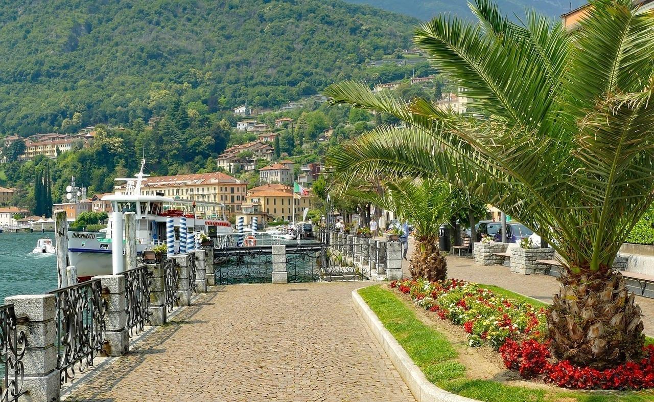 Italia Lago De Como Menaggio Italia