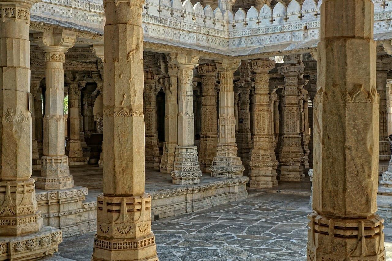 Jaintempel Chaumukkha Mandir Ranakpur India