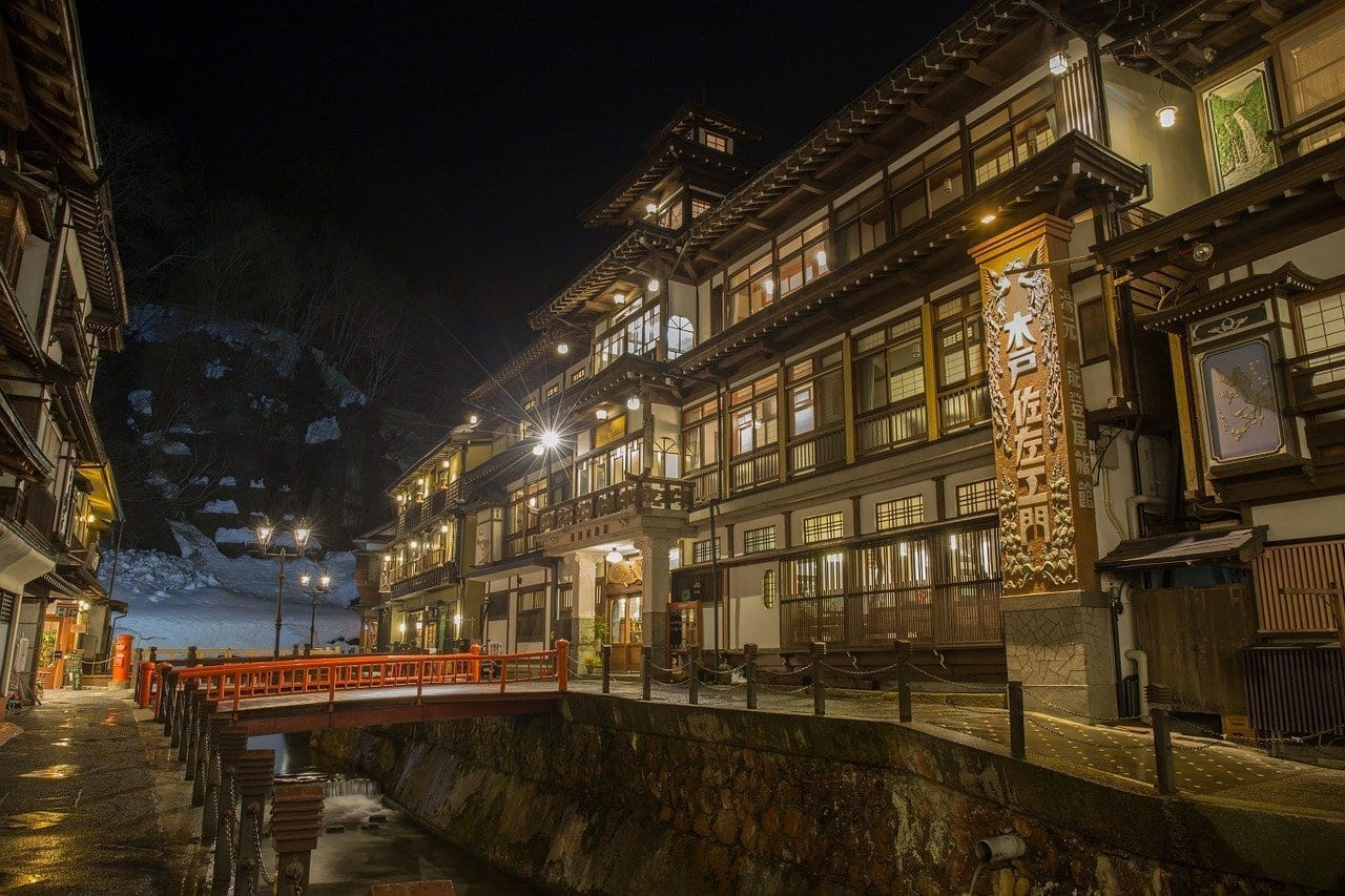 Japón Hot Springs Posada Estados Unidos