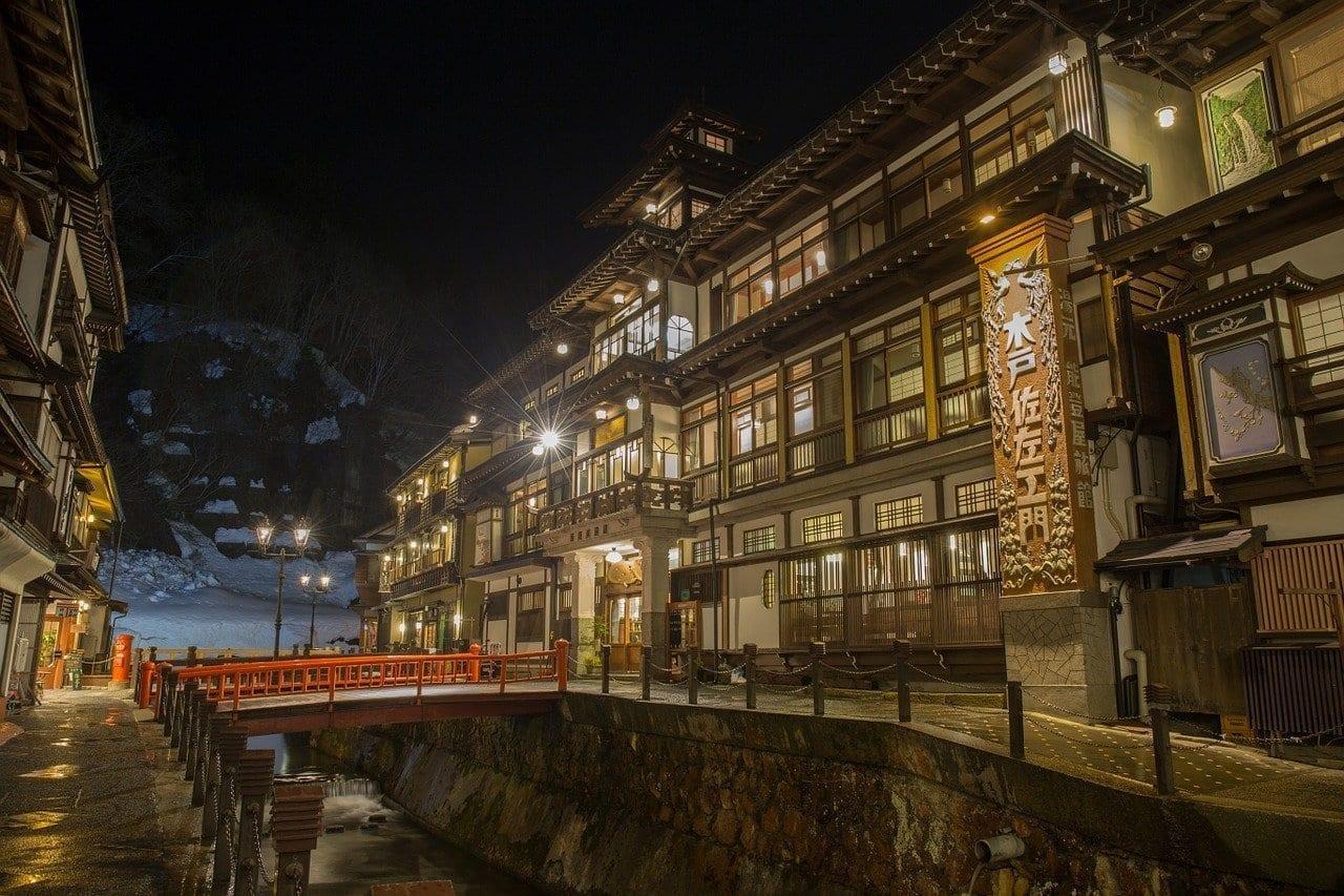 Japón Hot Springs Posada Estados Unidos