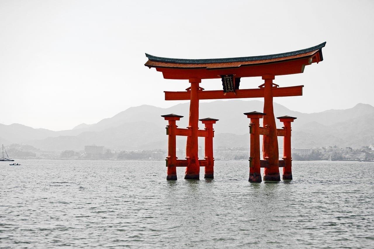 Japón Miyajima Templo Japón