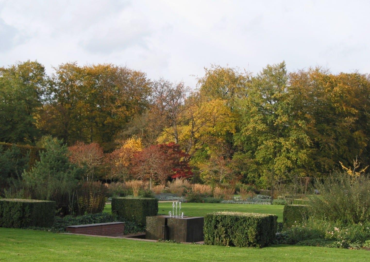 Jardín botánico Gutersloh Alemania