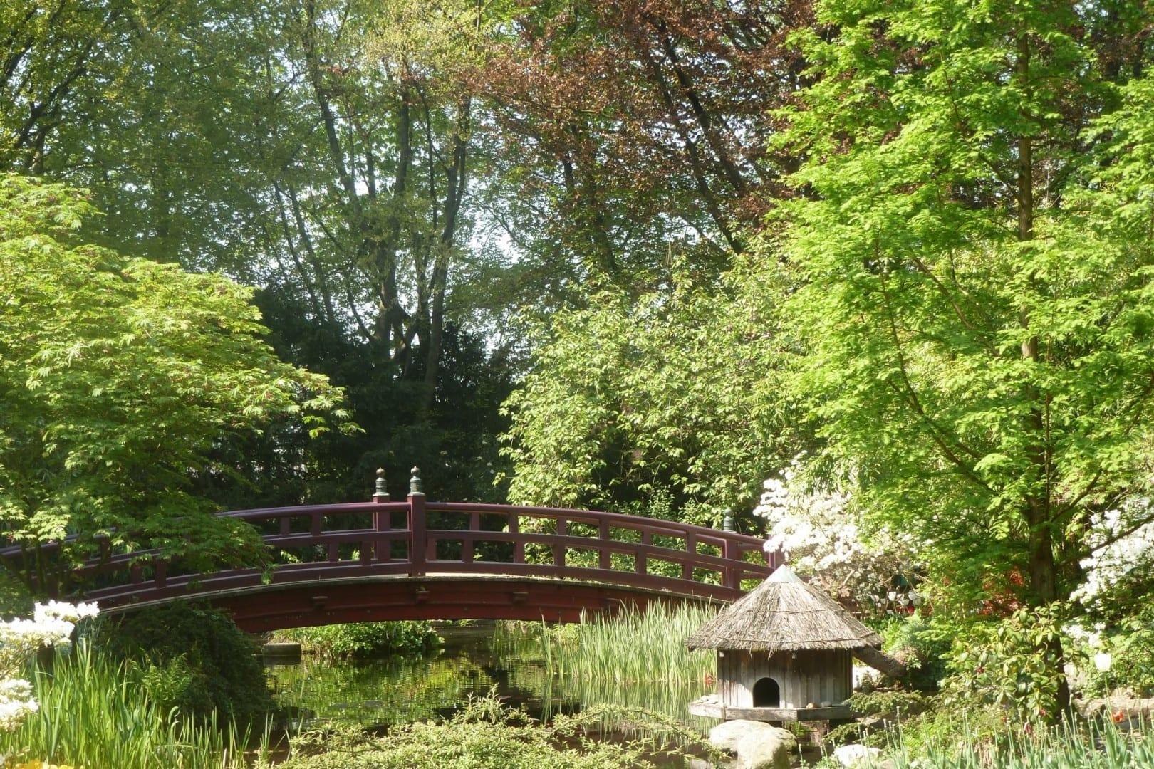 Jardín japonés Leverkusen Alemania