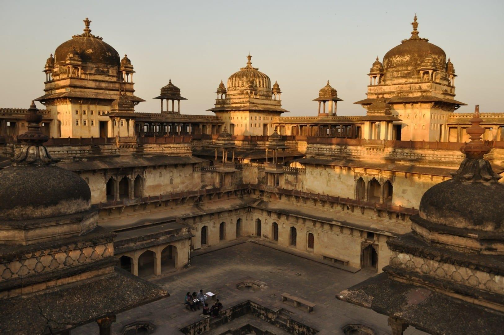 Jehangir Mahal Orchha India
