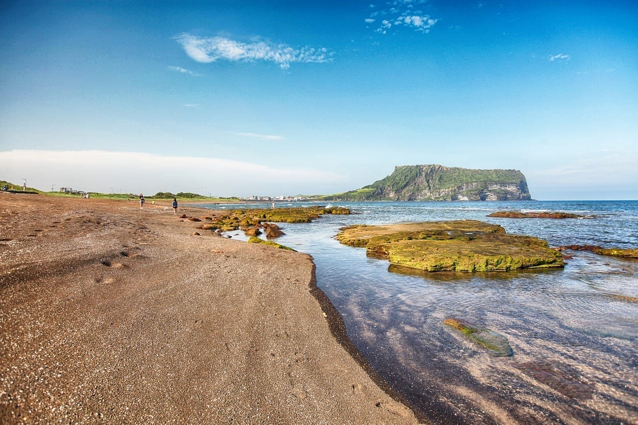 Jeju Isla De Jeju Amanecer Sueldo Corea del Sur