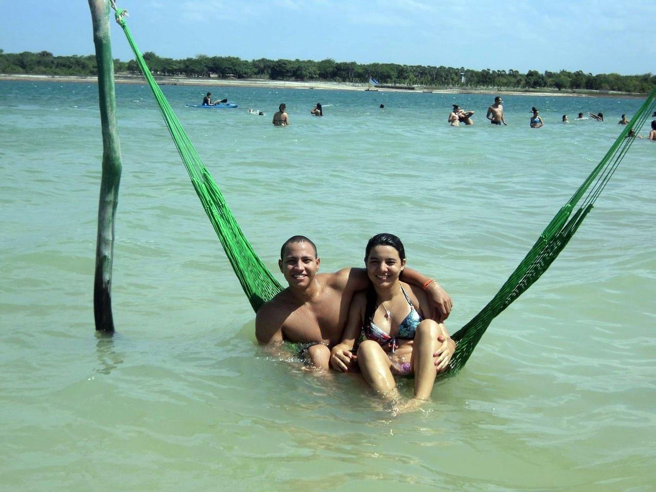 Jericoacoara Laguna Azul Agua Brasil