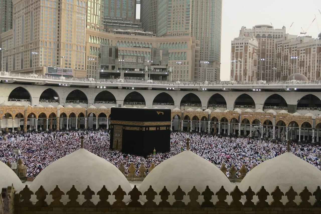 Kaaba Meca Harén Arabia Saudí