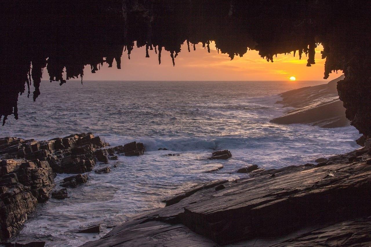 Kangaroo Island Australia Cueva Australia