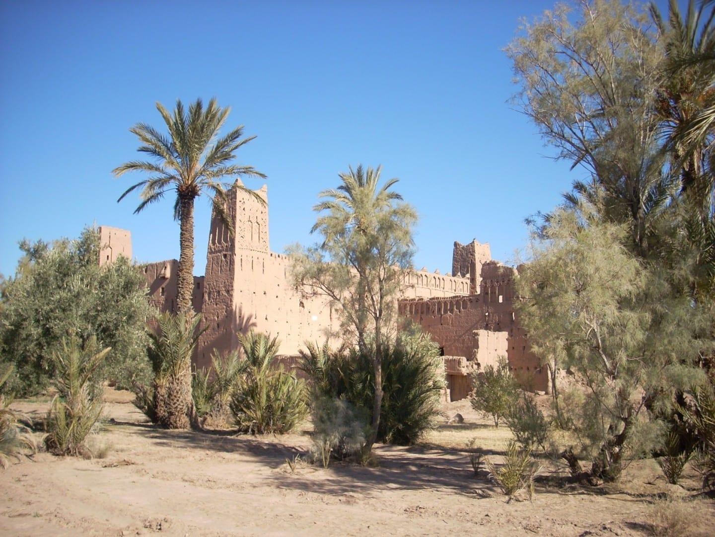 Kashba cerca de Skoura Uarzazate Marruecos