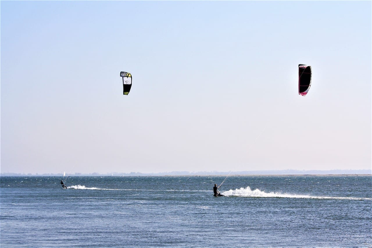 Kite Surf Fehmarn Mar Báltico Alemania