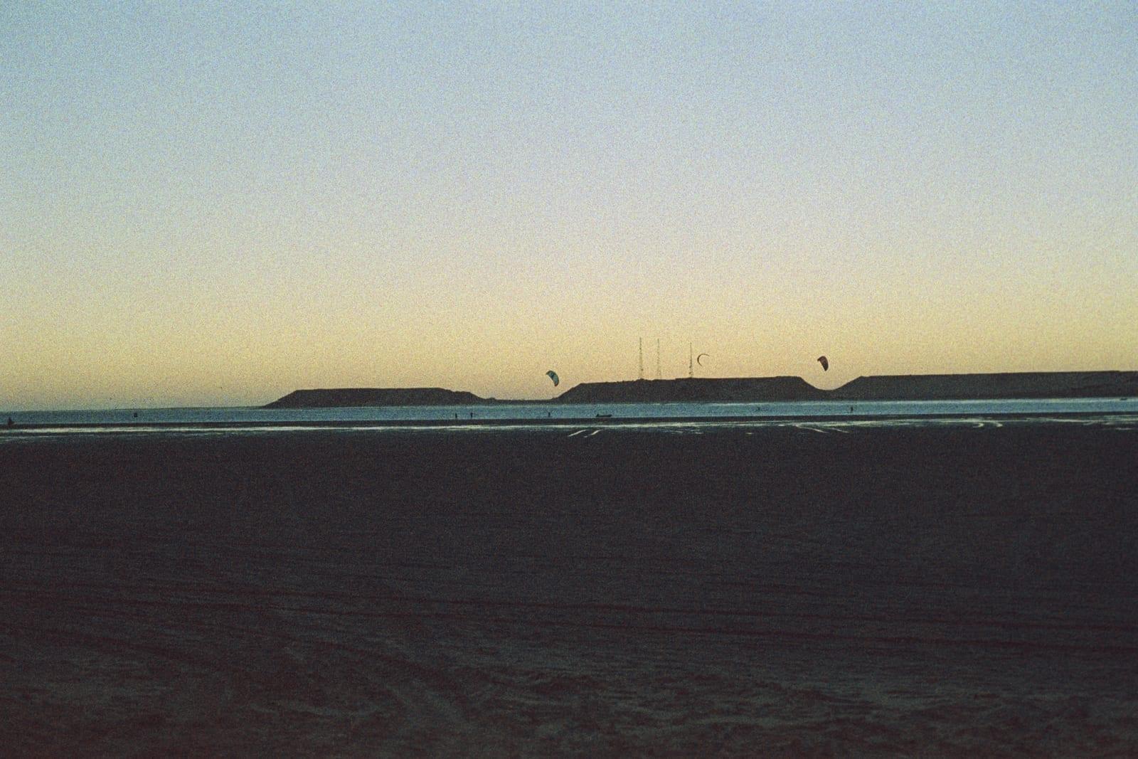 Kite-Surfing en Ad-Dakhla. Dajla Marruecos