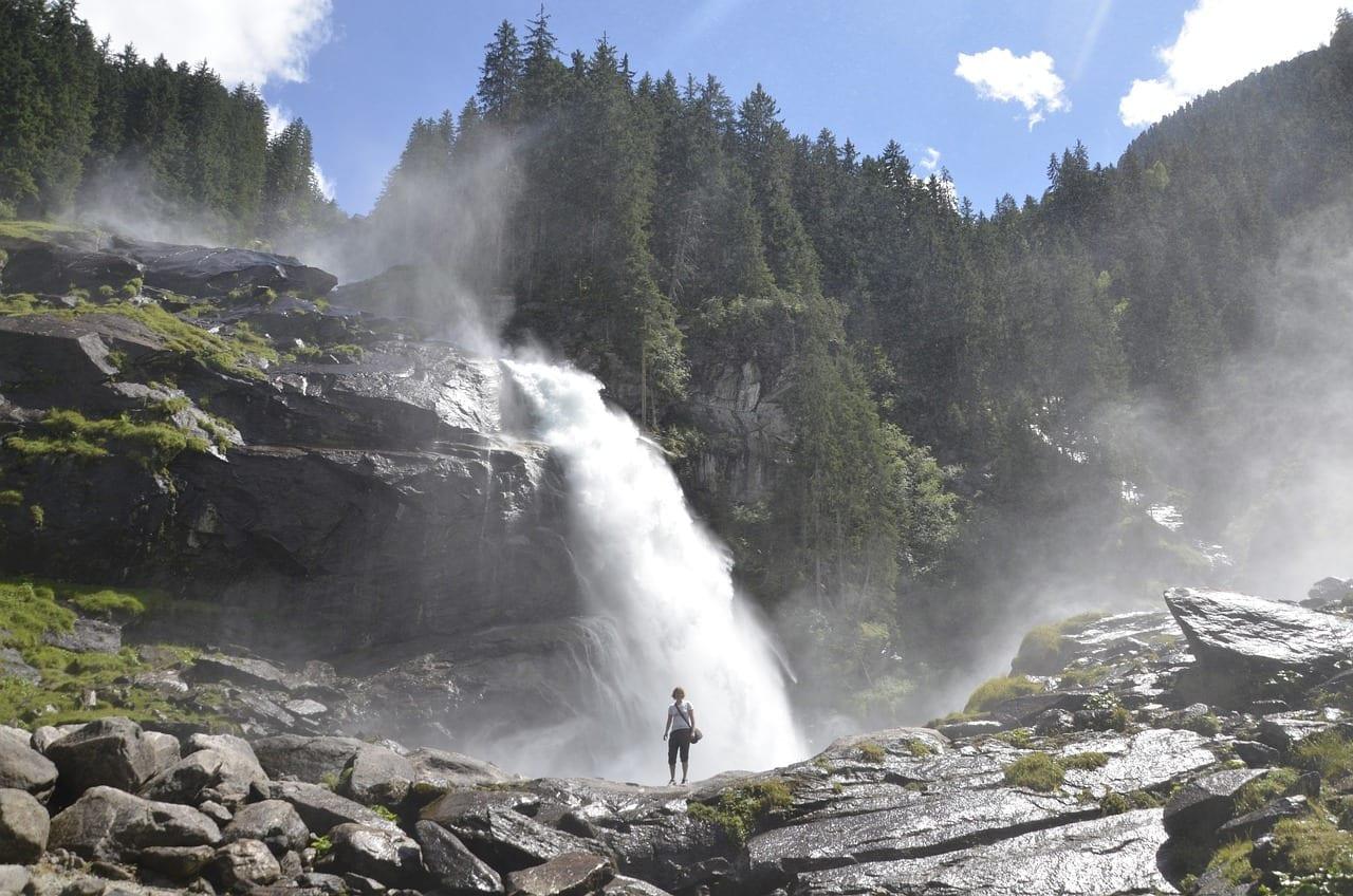 Krimml Krimml Cataratas Cascada Austria