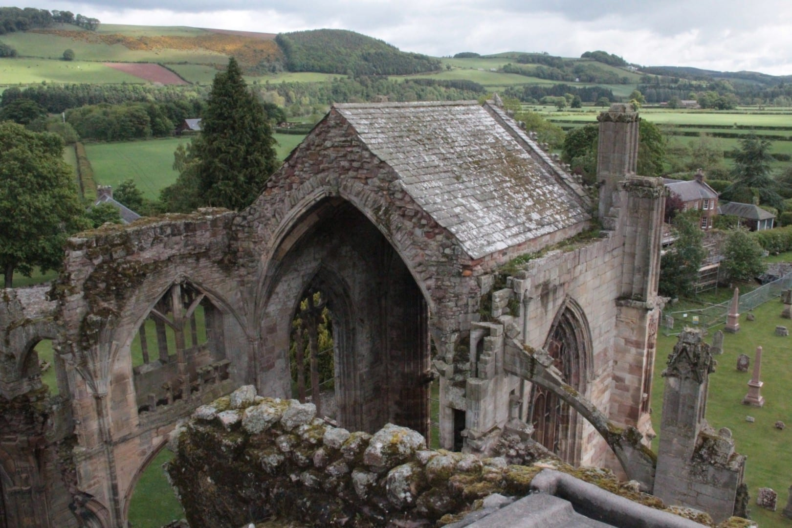 La Abadía de Melrose Melrose Reino Unido