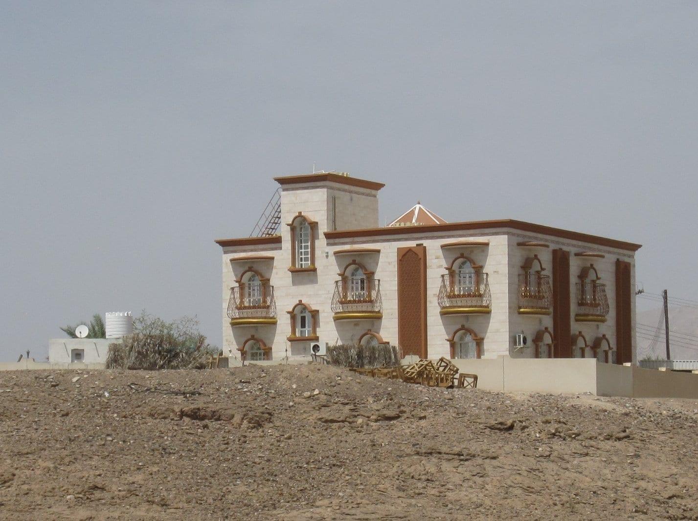 La aldea de Biladhi Shuhoom, Ibri Ibiri Omán