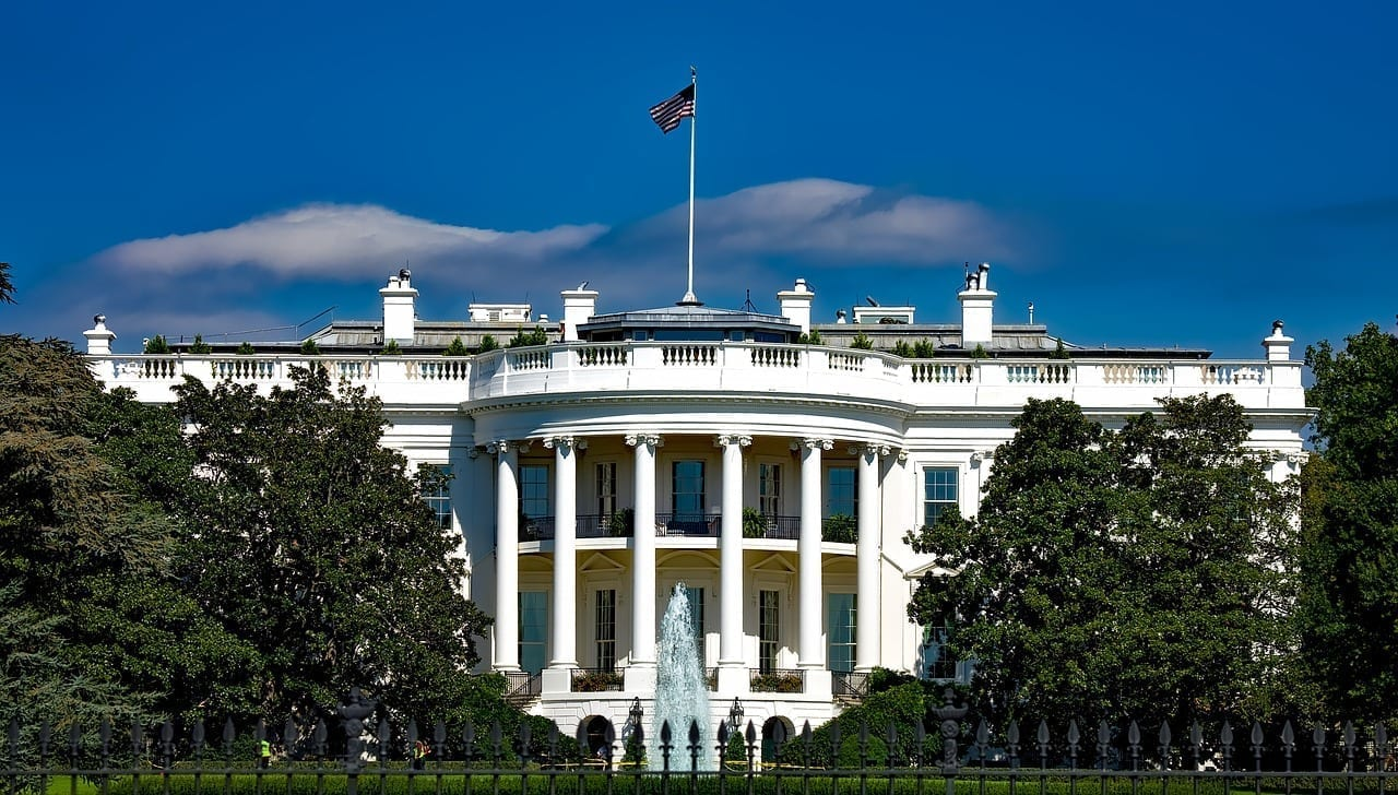La Casa Blanca Washington Dc Hito Estados Unidos