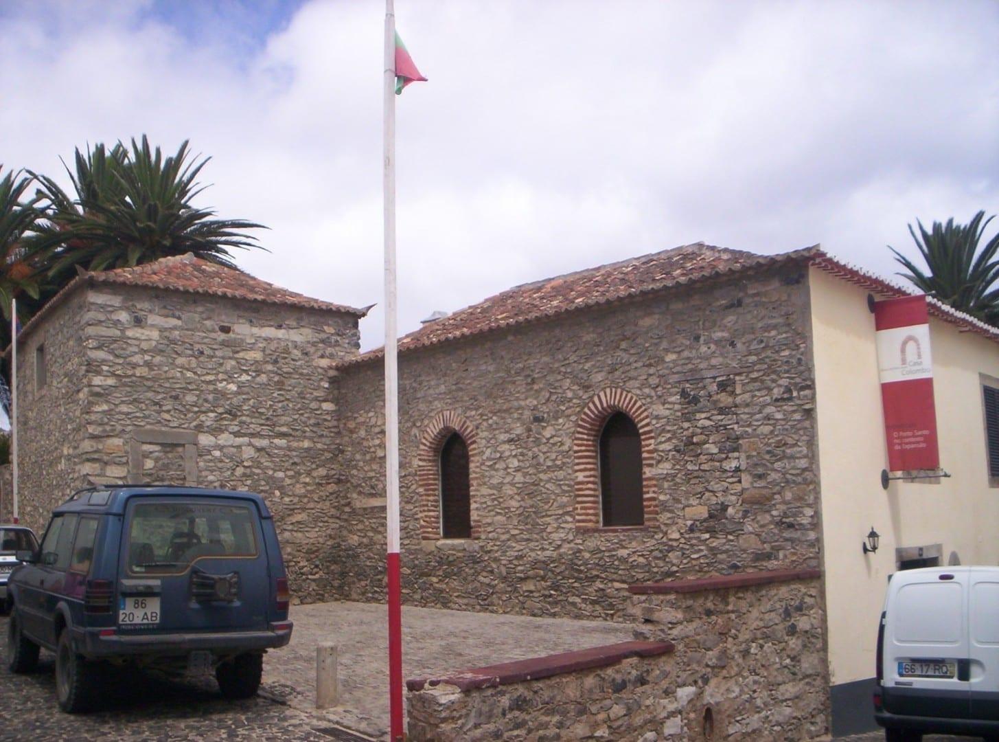 La casa de Cristóbal Colón Ilha Porto Santo Portugal
