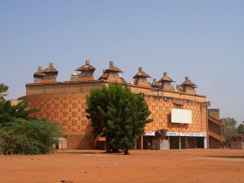 La casa de la gente. Uagadugú Burkina Faso