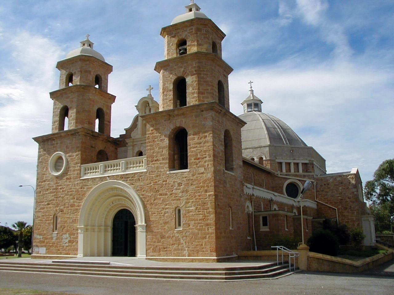 La catedral de San Francisco Javier Geraldton Australia
