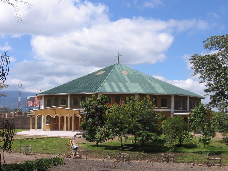 La Catedral del Obispo de Arusha. Arusha Tanzania