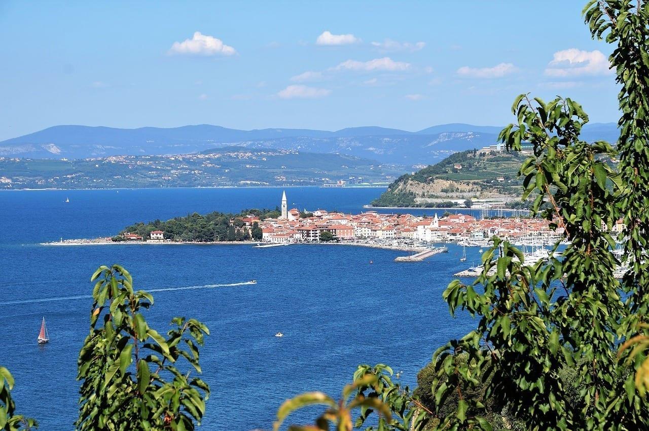 La Ciudad De Izola Mar Eslovenia Eslovenia