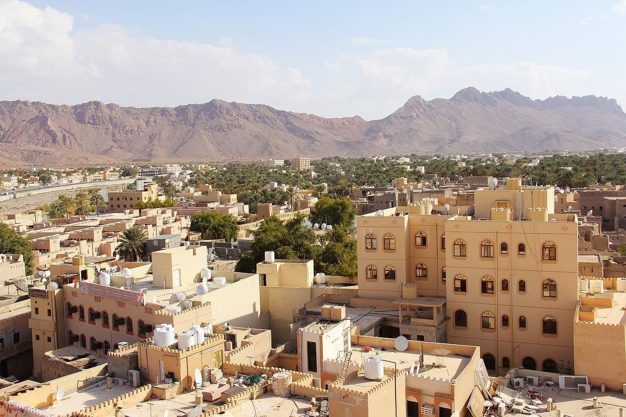 La Ciudad De Nizwa Ciudad Hermosa Omán