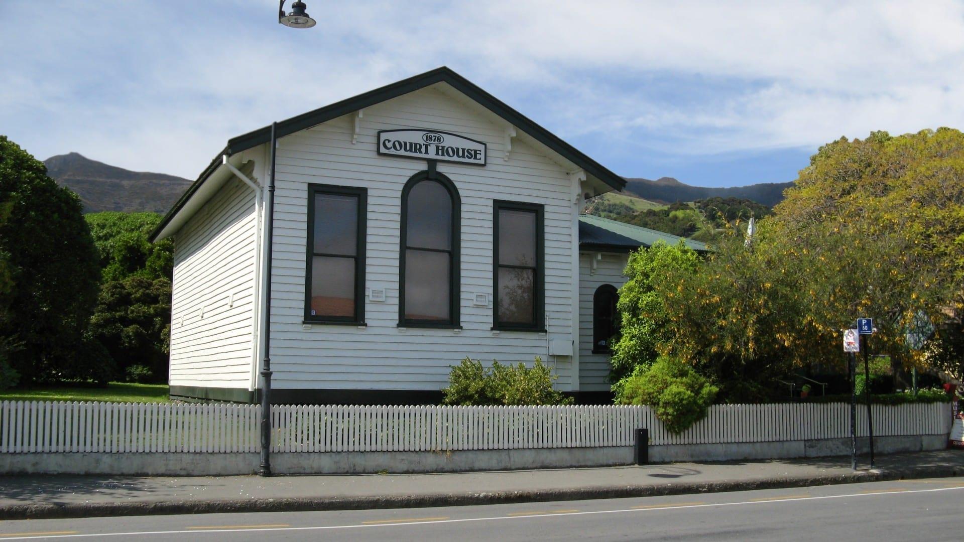 La Corte de Akaroa Akaroa Nueva Zelanda