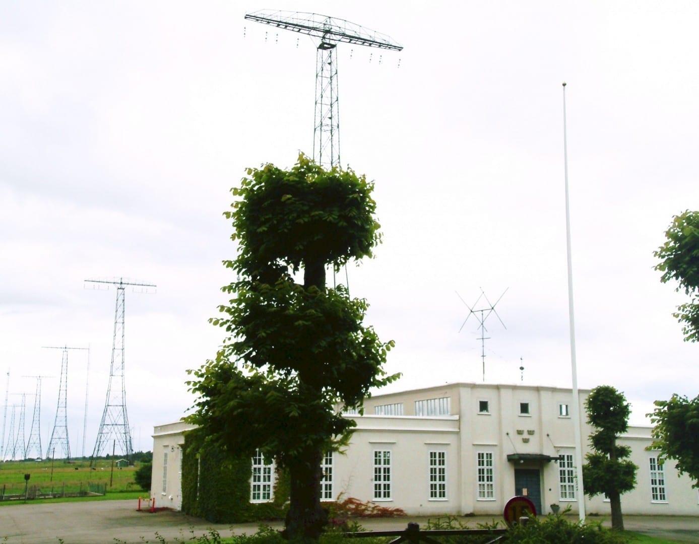 La estación de radio Grimeton Varberg Suecia