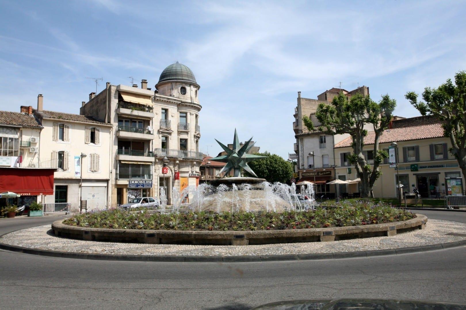 La estrella de Cavaillon Cavaillon Francia