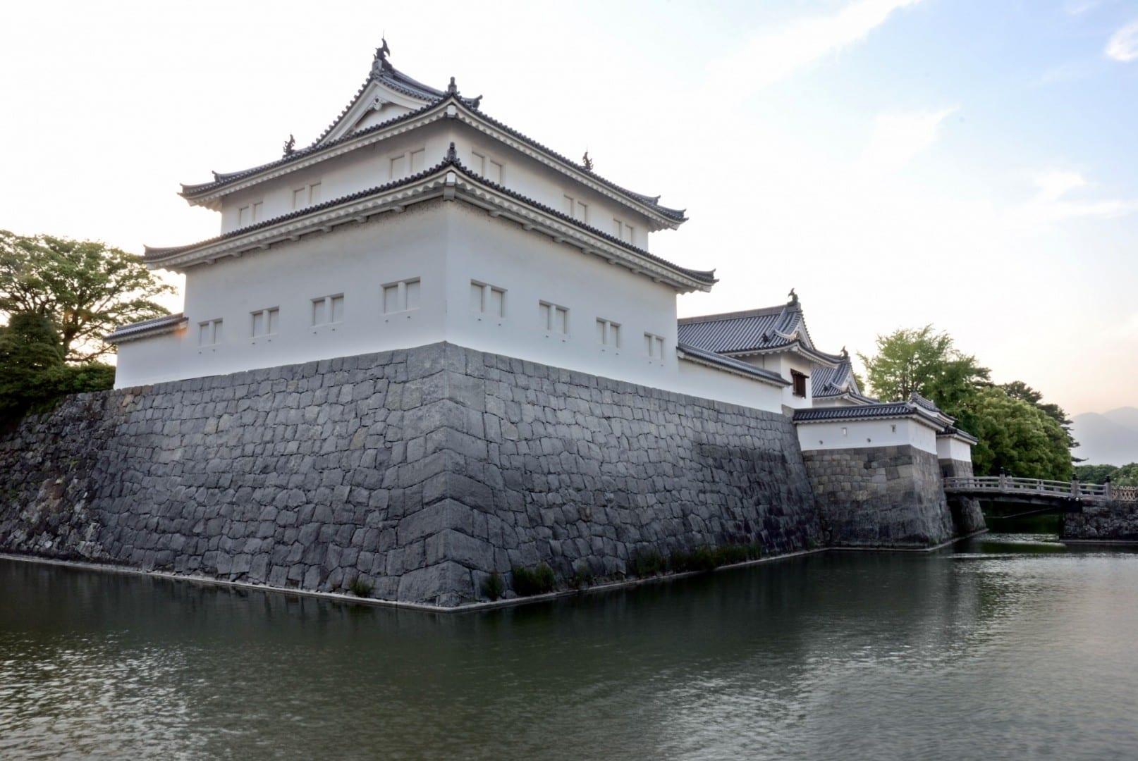 La guardia del castillo de Sumpu en Shizuoka... Shizuoka Japón