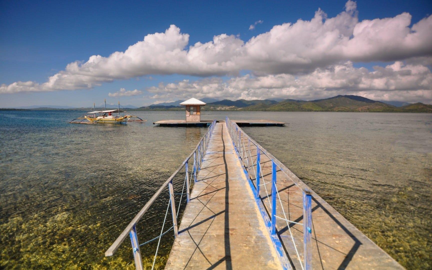 La hermosa isla de Luli en Honda Bay Puerto Princesa Filipinas