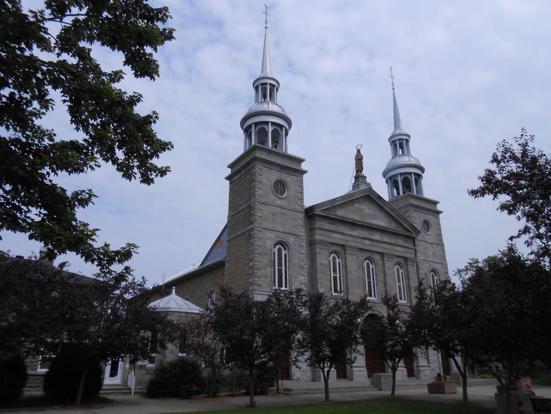 La iglesia de Sainte-Rose-de-Lima Laval Canadá
